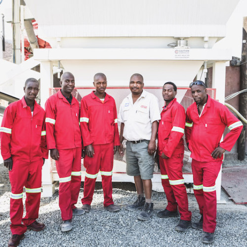 The Tugela Ferry Team